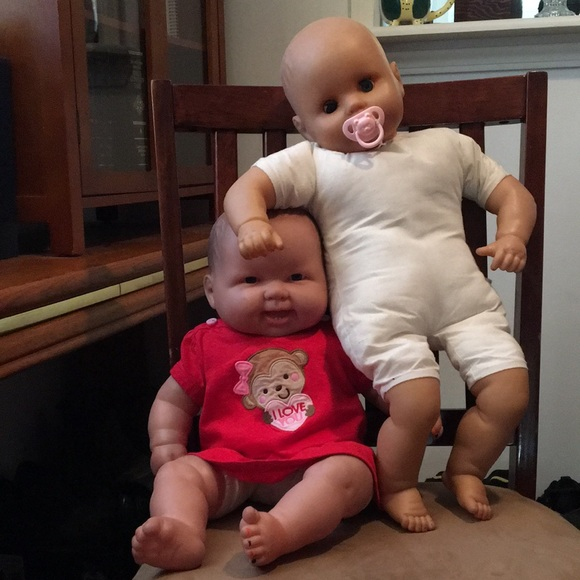 2 creepy babydolls 😆 old & vintage dolls! 🍬